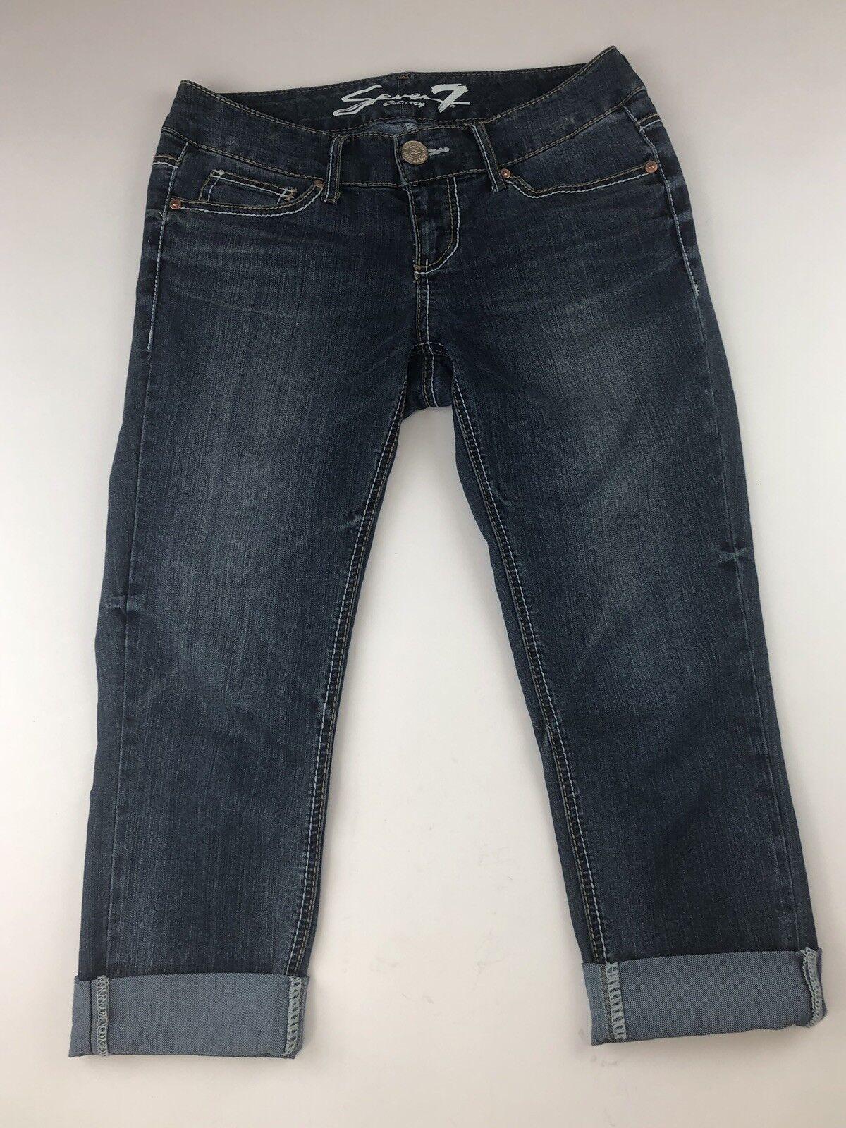 7 Seven For All Mankind Womens Boyfriend Jeans Size 6 EUC