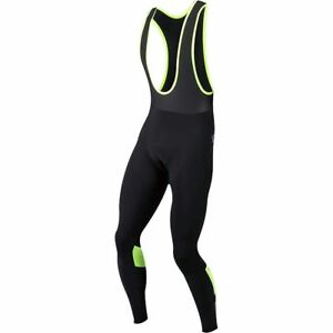 Pearl-Izumi-Pursuit-Thermal-Cycling-Bib-Tight-Men-039-s-Yellow-Black-Medium