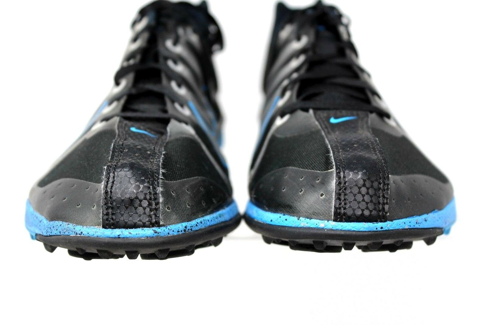 timeless design 67313 ea972 ... Nike Zoom Victory Victory Victory XC Track Spikes Black Blue 407062  Synthetic Sneaker Mens 11.5 ...