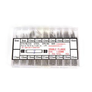 Einfach Uhr Band Frühling Bars Strap Pin Reparatur Werkzeuge Link Pins Reparatur Uhrmacher Edelstahl Uhr Zubehör Uhren 8mm 25mm Reparatur-werkzeuge & Kits