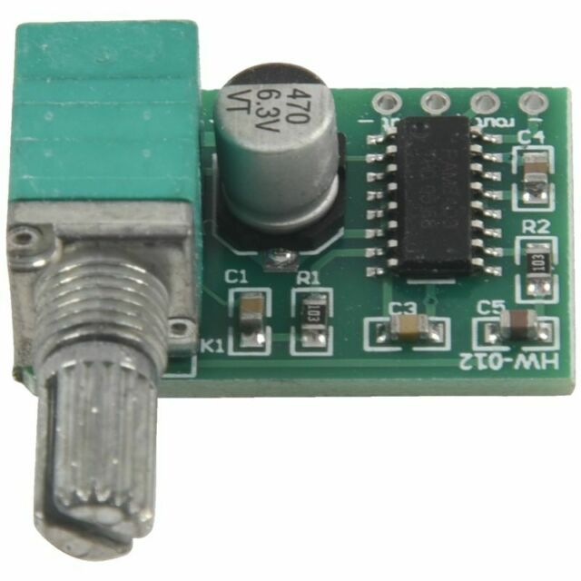 PAM8403 mini 5V digital power amplifier board with switch potentiometer can E9C9