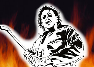 Michael Myers Halloween Horror Airbrush Stencil Spray Vision Best