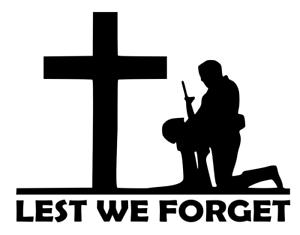 Etiqueta de vinilo Algo que no podemos olvidar héroes soldado//Militar//obra benéfica Pegatina de Coche//Van