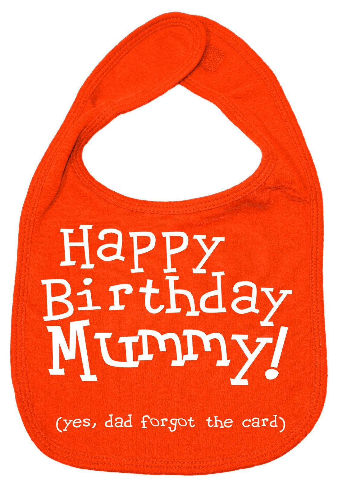 Warning Mummy Is Psycho Baby Bib Cute Funny Cute Daddy Baby Bib B027