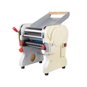 Commercial 110v Electric Pasta Press Maker Noodle Machine 3mm and 9mm Wide Knife