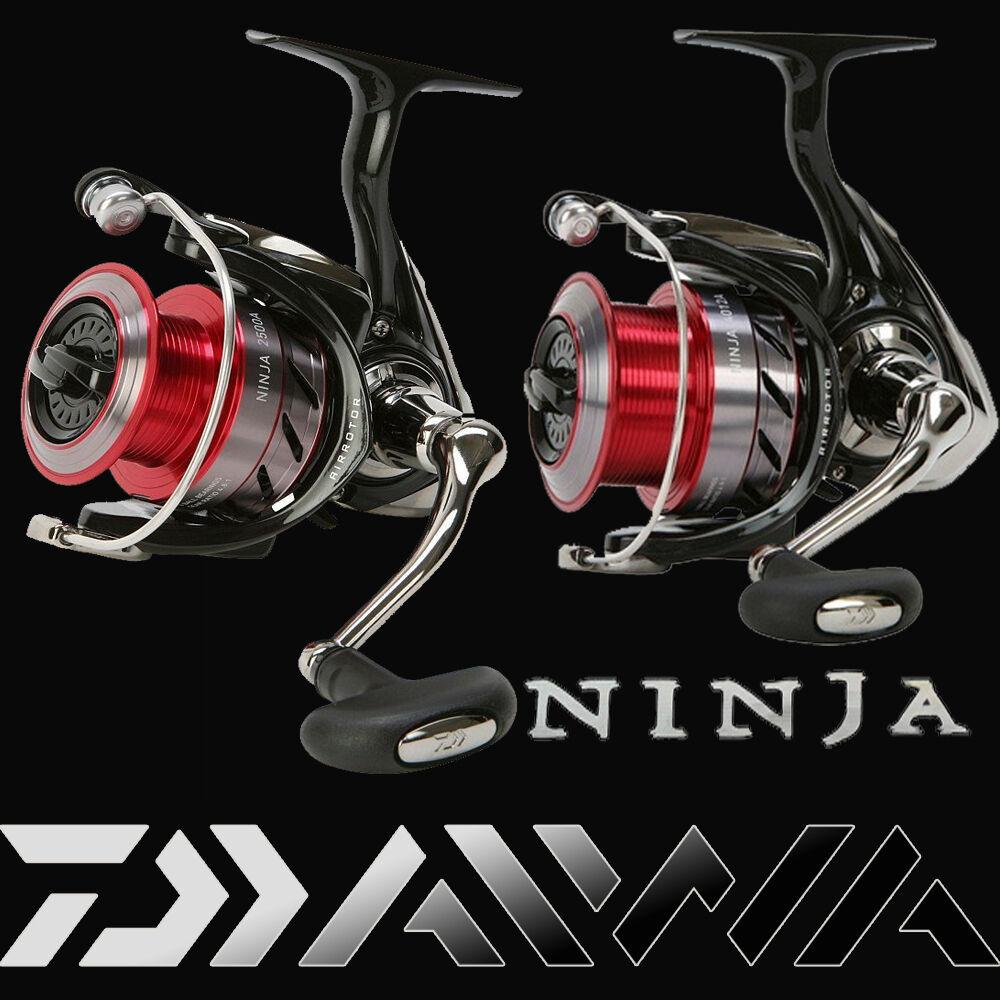 DAIWA NINJA A / 1003A - 4012A / spinning reels / aluminum spare spool NEW 2016