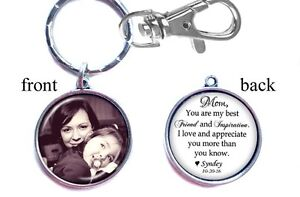 Personalized-Wedding-Photo-Keychain-Double-Sided-2-sides-Gifts-Mother-Bride