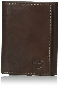 Timberland Blix Passcase Black Genuine Leather Credit Card Bifold Mens Wallet