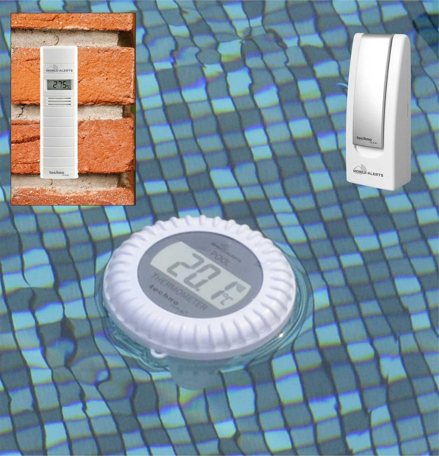 Termometro Piscina ma 10070 mobile alert Gateway pool trasmettitore Thermo HYGRO trasmettitore