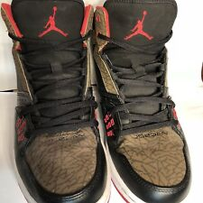 84262e2229ce item 1 Nike Air Jordan Sneakers Flight Elephant Print Red Black Olive Mens  8.5 High Top -Nike Air Jordan Sneakers Flight Elephant Print Red Black  Olive Mens ...