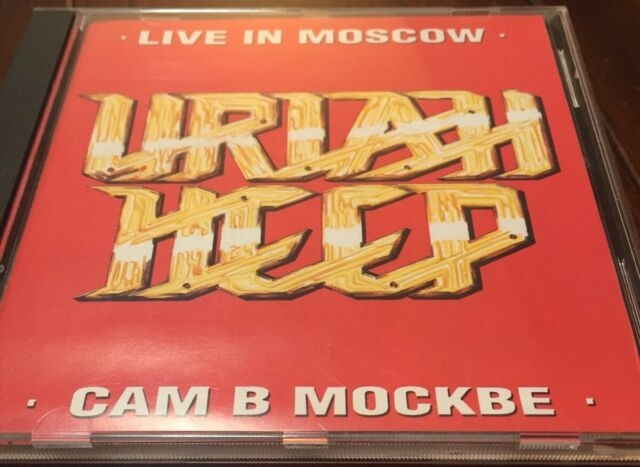 Uriah Heep Live In Moscow 1988 Rare Usa Pressing Cd Black Sabbath Purple Argent For Sale Online Ebay