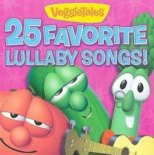 VeggieTales - 25 Favorite Lullaby Songs [New CD] Veggie Tales