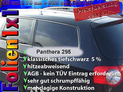 16,22€/qm 1A Profi Auto Scheiben Tönungsfolie tiefschwarz ABG 2-lagig XXL-Grösse