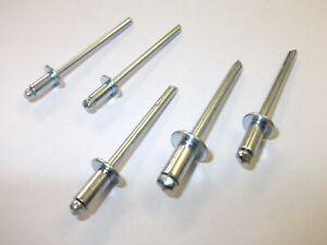 White Blind Pop Rivets 3.2 4.0 4.8 3.2mm 4.0mm 4.8mm