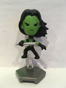 Gamora-Guardians-of-the-Galaxy-Bobble-Head-Series-1-Mini-Figure-NEW