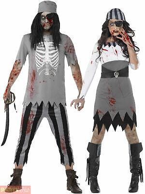 Mens Zombie Pilot COSTUME HAT Adult Halloween Undead Flyer Fancy Dress Outfit
