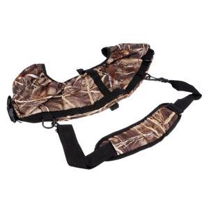 Archery Compound Bow Sling Carrier Shoulder Strap Holder Bag for Hunting