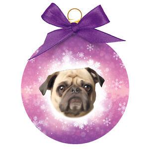 Dog Christmas Tree Decoration Pug Christmas Bauble Great Gift