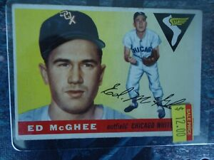 1955-TOPPS-ED-MCGHEE-CHICAGO-WHITE-SOX