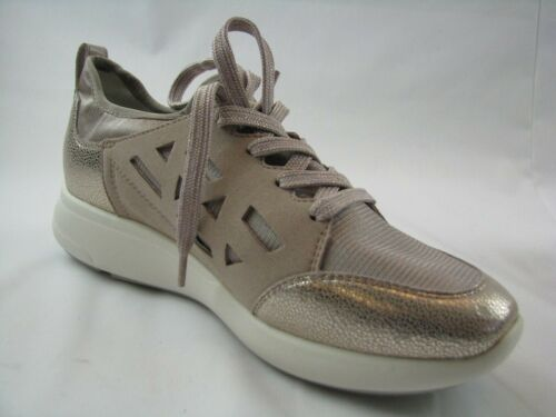 Sneaker Leder 37 In Damen D821cb Geox Gr Rose FWzqEUvB6H