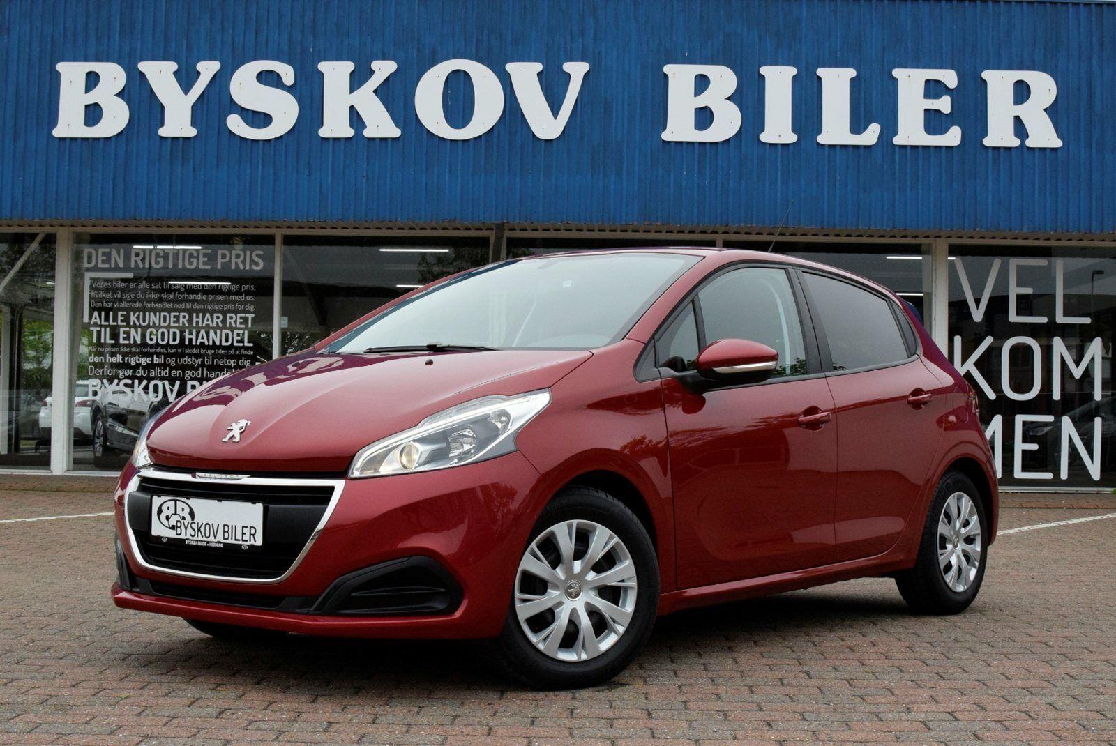 Peugeot 208 1,6 BlueHDi 100 Active+ 5d - 114.895 kr.