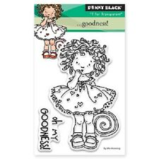 PENNY BLACK RUBBER STAMPS CLEAR GOODNESS NEW STAMP SET 2015