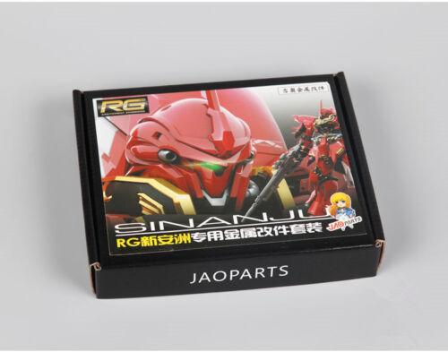 JAOparts Metal Modified parts set for Bandai RG 1//144 MSN-06S Sinanju Gundam