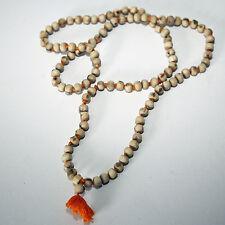 TULSI MALA,Indien Kette,Om Vishnu Rama Krishna Puja, Halskette Holy Basil 80 cm