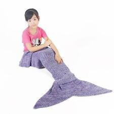 Mermaid Fish Tail Blanket Bed Snuggle-in Very Soft Girl Kids Sleeping Bag 150*60