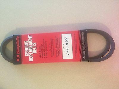 NEW OEM Genuine Simplicity Manufacturing V-Belt 1713549    *