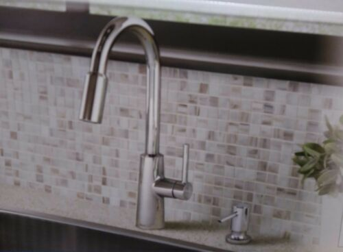 Moen Nori Chrome One Handle Pulldown Kitchen Faucet #87066