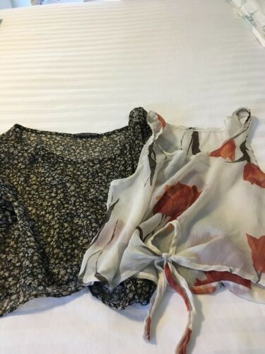 BRANDY MELVILLE Tops, Lot Of 2, One Size, Both-She