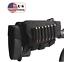BLACK Ammo Cartridge Buttstock Rifle Shell Holder Deer Hunt Gun Storage Pouch