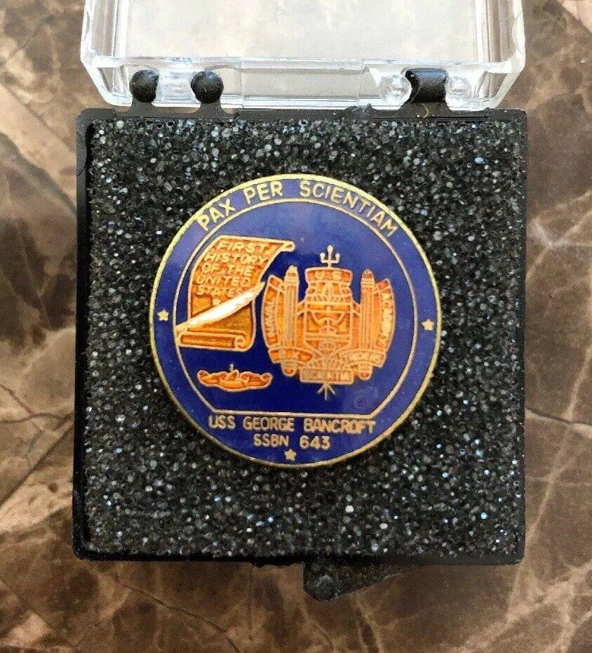 USS Alexander Hamilton SSBN-617 HAT LAPEL PIN MADE IN US NAVY SUBMARINE GIFT