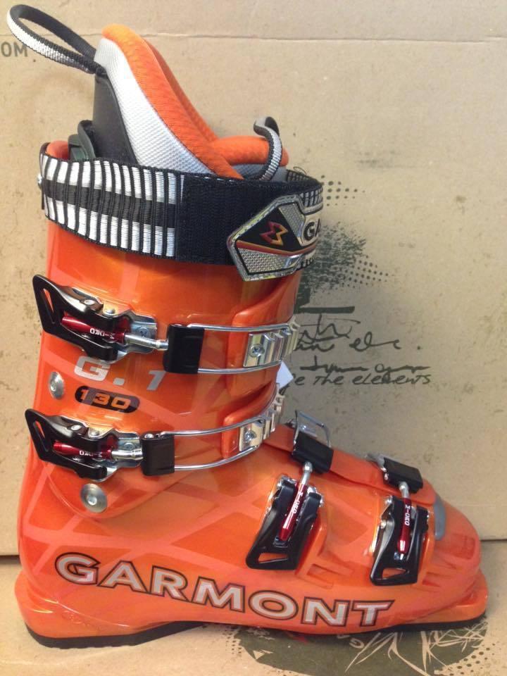 Scarponi Da Sci Gara Garmont G1 Aspen flex 130 misura UK 8 Größe Race Ski Stiefel