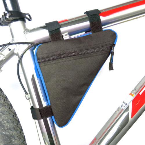 Waterproof Mountain Bike Triangle Bag Bicycle Frame Front Tube Bags Storage UK