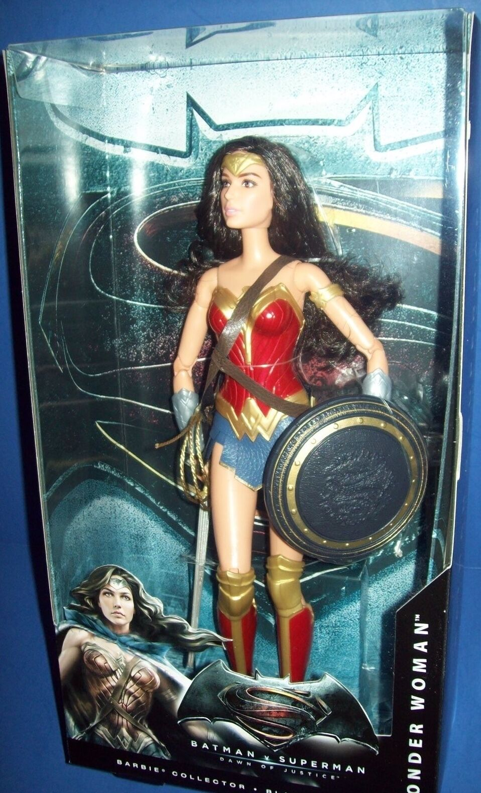 Barbie Sammler schwarz schwarz schwarz Label Puppe Batman V Superman Dawn Of Justice Wonder Woman 320632