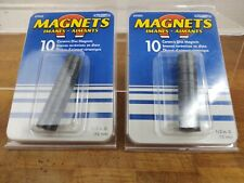 Ceramic Disc Magnets Nip 0472 The Magnet Source Brand New 2 Packs Of 10