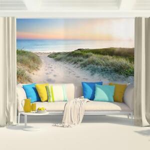 Fototapeten Tapete Fototapete Vlies Strand Wandbilder XXL 3D Effekt Wohnzimmer
