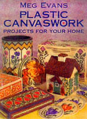 """""""AS NEW"""" Plastic Canvaswork: Projects for Your Home, Evans, Meg, Book"""
