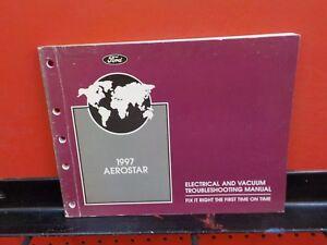 1997 FORD AEROSTAR ELECTRICAL WIRING SERVICE MANUAL (FM377 ...