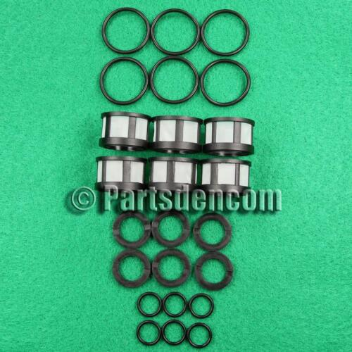 FUEL INJECTOR SERVICE KIT FITS NISSAN PATHFINDER R50 VG33E 3.3L 00-05 INJECTORS