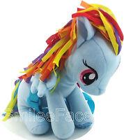My Little Pony Rainbow Dash Plush Backpack Purse Stuffed Plush Pony Handbag