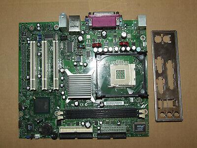 Intel D845GLVA AA C30423-202 Socket 478 Motherboard  /& I//O Plate