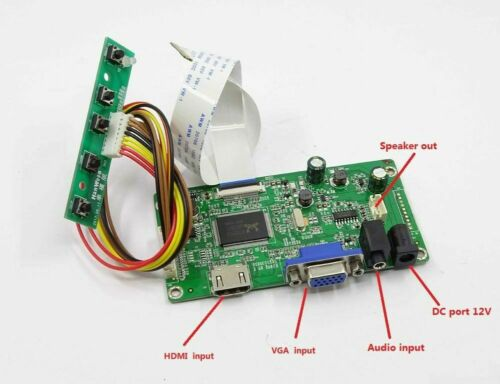 for NT156WHM-N32 NT156WHM N32 HDMI+VGA LCD LED LVDS EDP Controller Driver Board