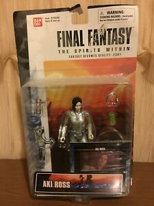 Final Fantasy The Spirits Within Aki Ross Action Figure