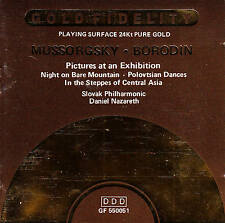 DANIEL NAZARETH - Mussorgsky/Borodin ★ CD 24Kt pure Gold *JAPAN