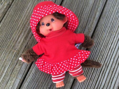 cappello per Monchichi tg Leggings 20 cm ROSSO BIANCO vestito bambole Abbigliamento MAGLIETTA