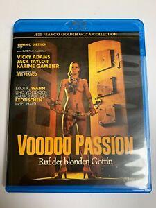 VOODOO PASSION Blu-ray REGION FREE Vicky Adams ~ JESS FRANCO ~ Like New!