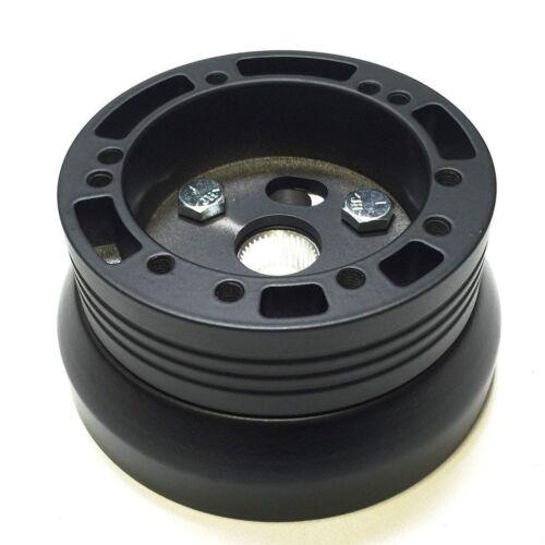 Black 5 6 Hole Steering Wheel Hub Adapter For 1970-1973 Chevy GMC Truck//Van
